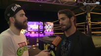 WrestleMania XXX - Video-Interview mit WWE Superstar Seth Rollins (The Shield)