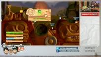 Gameswelt LIVE vom 26.09.2014 - Teil 2: Chris und Kuro zocken Worms