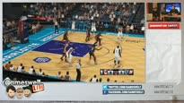 Gameswelt LIVE vom 10.10.2014 - Kuro und Chris zocken NBA 2K15 und DriveClub