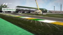 F1 2014 - Brazil Hot Lap Gameplay Trailer