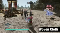 Dynasty Warriors 8 Empires - Woven Cloth Weapon Trailer