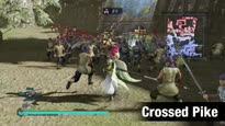 Dynasty Warriors 8 Empires - Crossed Pike Weapon Trailer