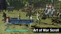 Dynasty Warriors 8 Empires - Art of War Scroll Weapon Trailer