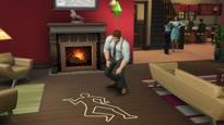 Die Sims 4: An die Arbeit - Polizist Karriere Gameplay Trailer