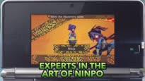 Etrian Mystery Dungeon - Ninja Trailer