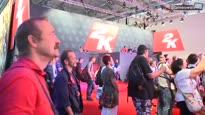 2K Booth-Tour - Robin stellt euch den gamescom-2015-Stand vor