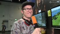 Kalypso Booth-Tour - Robin stellt euch den gamescom-2015-Stand vor
