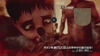 Attack on Titan - Gameplay Trailer #4 (jap.)
