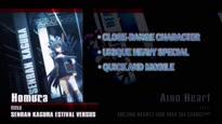 Nitroplus Blasterz: Heroines Infinite Duel - Homura Character Trailer