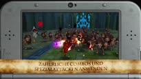 Hyrule Warriors Legends - Die Schlacht ist eröffnet Gameplay Trailer