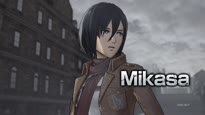 A.O.T. Wings of Freedom - Mikasa Character Trailer