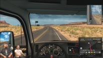 GamesweltLIVE - Sendung vom 29.09.2016 - Trucker Rick VR-Edition!