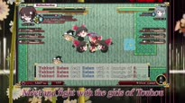 Touhou Genso Wanderer - Gameplay Trailer