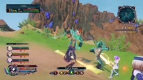 Cyberdimension Neptunia: 4 Goddesses Online - Gameplay Trailer #2
