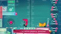 Snipperclips Plus: Zusammen schneidet man am besten ab! - Nintendo Direct Announcement Trailer