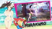 Senran Kagura Peach Beach Splash - Gessen Girls Academy Trailer