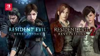 Resident Evil Revelations 1+2 - Switch Story Launch Trailer