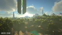 ARK: Survival Evolved - Xbox One vs. Xbox One X Comparison Trailer