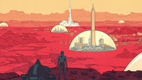 Surviving Mars - Domes, Living on Mars Trailer