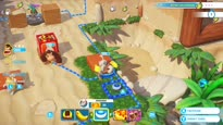 Mario + Rabbids: Kingdom Battle - Donkey Kong Adventure Gameplay Trailer