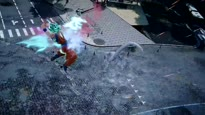 Jump Force: Unite to Fight - Super Saiyan Blue & Golden Frieza Gameplay Trailer