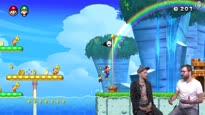 Mario hüpft auf die Switch - Talk zu New Super Mario Bros. U Deluxe