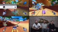 Alle drei zusammen - Koop-Zocksession mit Team Sonic Racing