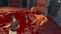 Blutiger VR-Spaß - Felix zockt GORN VR mit Oculus Rift