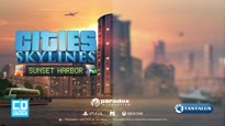 Cities: Skylines - Sunset Harbor - Official Announcement Trailer