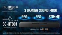 Panasonic Sound Slayer SC-HTB01 - Gaming Lautsprecher mit integriertem Subwoofer