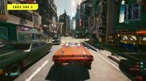 Cyberpunk 2077 - Night Wire City Special: Erstes Gameplay auf der Xbox Series X