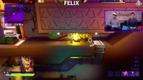 Felix und Pirmin beim Kampf der Würmer - Zocksession zu Worms Rumble