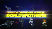 Earth Defense Force: World Brothers - Release Date Trailer